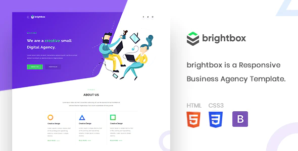Download Free Brightbox Agency theme