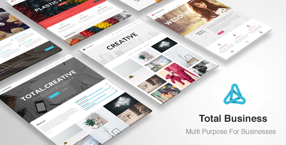 Download Free Total Business WordPress theme