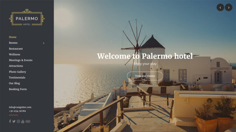 Palermo wordpress theme