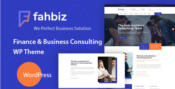 Download Free Fahbiz WordPress Theme