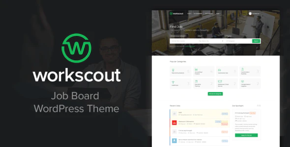 Download Free WorkScout – Job Board WordPress Theme