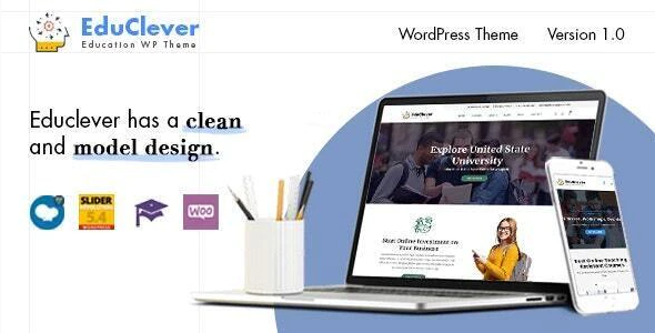 Download Free Educlever – Education WordPress Themes
