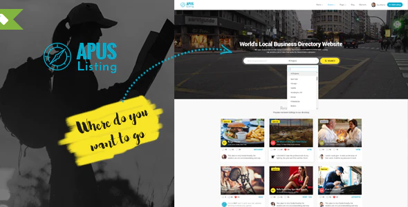 Download Free ApusListing – Directory Listing WordPress Theme