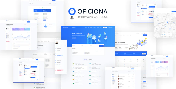 Download Free Oficiona – Job Board WordPress Theme