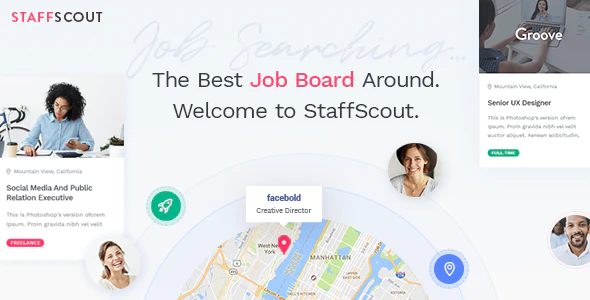 Download Free StaffScout – Job Board and Employment Theme