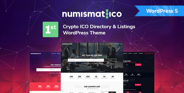 Download Free Numismatico – Cryptocurrency Directory & Listings WordPress Theme