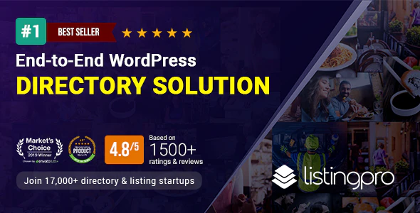 Download Free ListingPro – WordPress Directory Theme