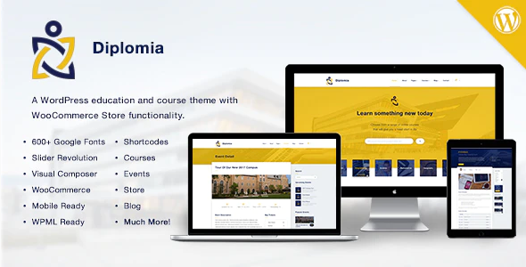 Download Free Diplomia WordPress Theme | Education WP
