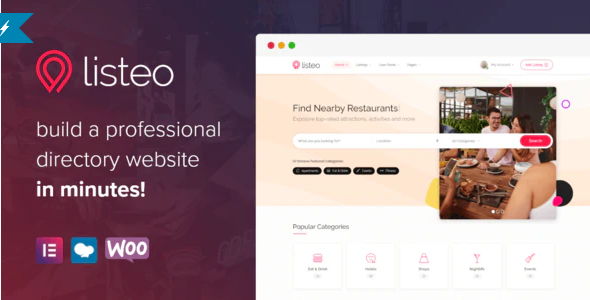 Download Free Listeo – Directory WordPress Theme