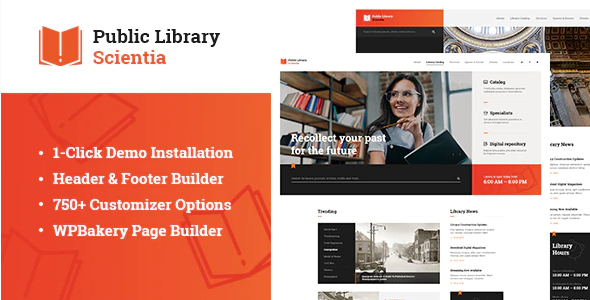 Download Free Scientia Education WordPress Theme