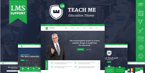 Download Free TeachMe – WordPress Theme for Schools