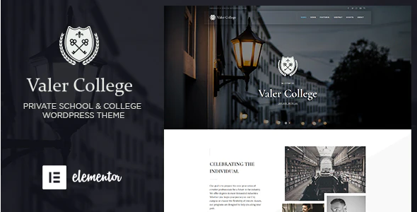 Download Free Valer – School & College WordPress Theme