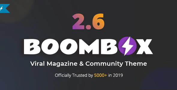 Download Free BoomBox – Viral Magazine WordPress Theme