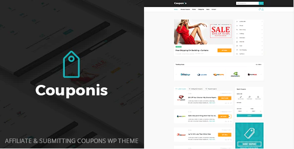 Download Free Couponis – Affiliate & Submitting Coupons WordPress Theme
