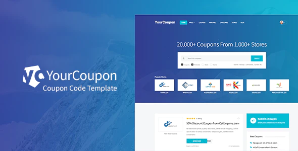 Download Free Yourcoupon – Coupons & Deals WordPress Theme