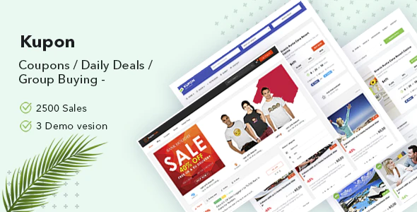 Download Free KUPON – WordPress Coupon Theme