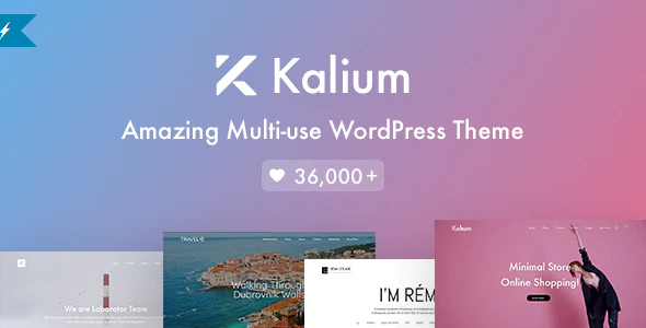 Download Free Kalium – Creative Theme for Professionals