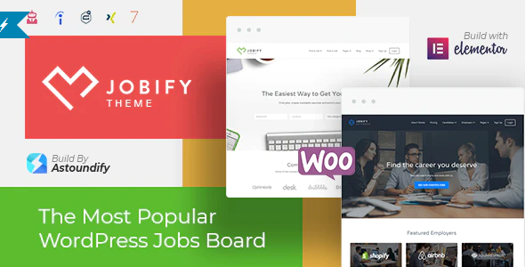 Download Free Jobify – Job Board WordPress Theme